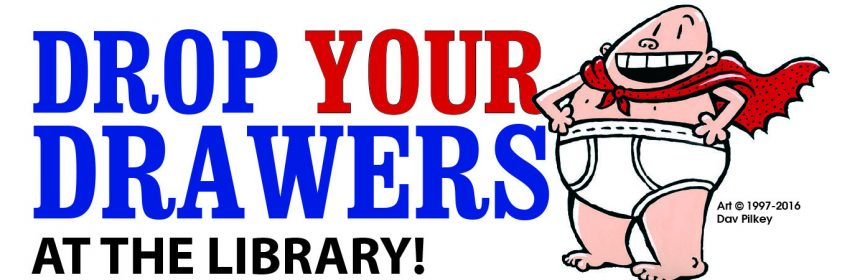 Drop your drawers campbell county public library your generous support helped us surpass our 6000 pair drop your drawers goal the current count is 6670 pairs of underwear and we are still counting fandeluxe Choice Image